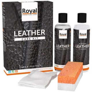 Royal Leather Care Kit - Care & Protect - maxi (2x250ml)