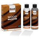 Royal WaxOil Wood Care Kit + Cleaner 2x250ml